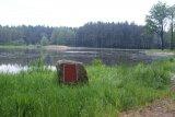 Po odbahnění - rybník
